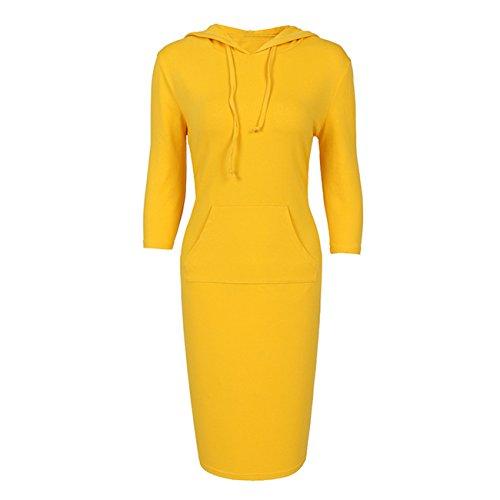 YL - Sudadera - para mujer amarillo