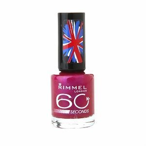 NEW Rimmel 60 seconds One-Coat Nail Polish 530 Pulsating by Rimmel