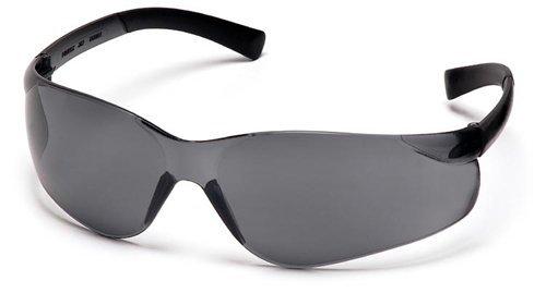 (Pyramex ZTEK S2520S Gray Safety Glasses w/ Gray Lens, 1 Box / 12 Pairs )