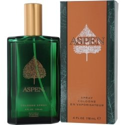 Coty Aspen Cologne Spray for Men, 4 Fluid Ounce