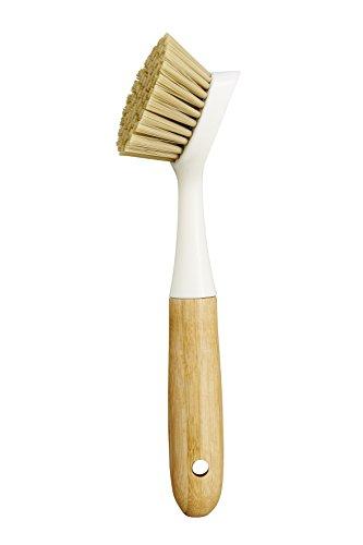 HIC Harold Import Co. Hic Dish Scrubbing Brush, Small, White