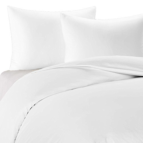 Cheap King/California King Solid White Wrinkle Free 650TC 100% Cotton Duvet Cover sets, include: One Duvet Cover and Two Pillow Shams supplier