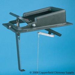 Lyemance Chimney Damper - Chimney 12109 Lyemance Energy-Saving Damper - 9 Inches x 13 Inches