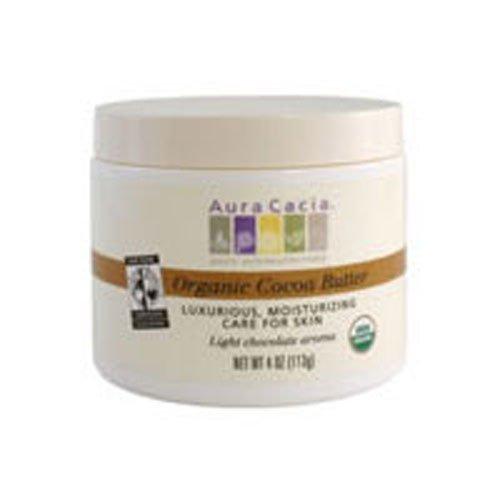 Aura Cacia Body Butter Og1 Cocoa Btr 4 Oz