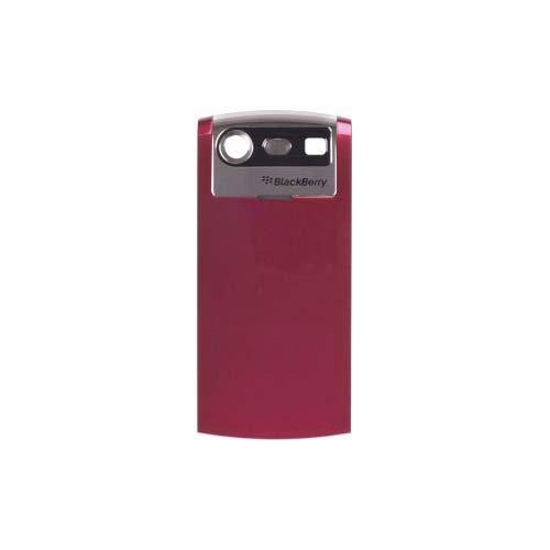BlackBerry 8130 Pearl Replacement Standard Battery Door - Original OEM ASY-14340-022 - Non-Retail Packaging - Red