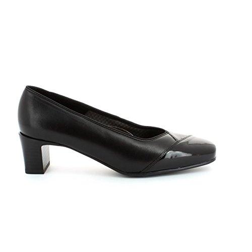 ara - Zapatos de tacón de cuero mujer negro - schwarz Weite H