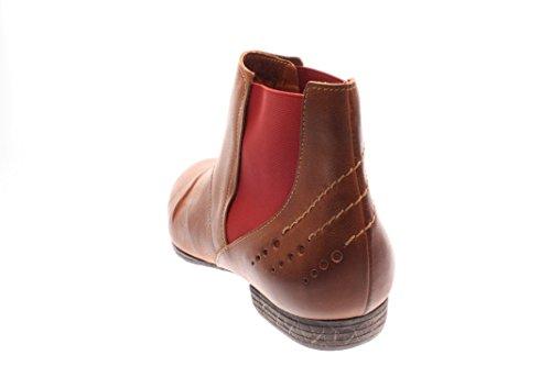 Femmes Chaussons plats caramel kombi brun, (caramel kombi) 6-86132-54