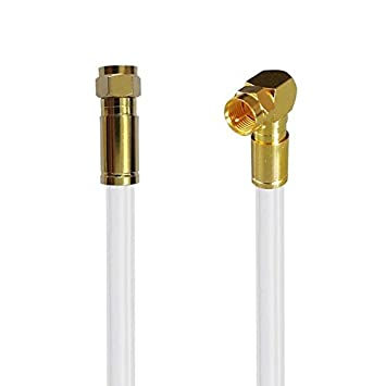 1 m coaxial antena Cobre Digital TV unitymedia Sat coaxial Cable coaxial 135dB ángulo de compresión