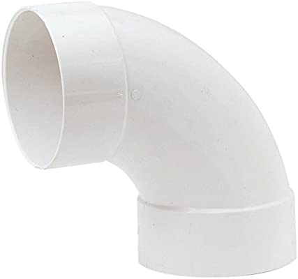 10 Pack Genova Products 30707CP 3//4-Inch 90 Degree PVC Pipe Elbow