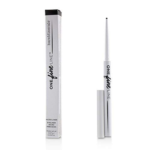 bareMinerals One Fine Line Micro Eyeliner, Exact Onyx, 0.002 Ounce