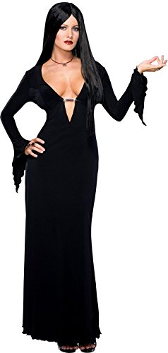 morticia addams fancy dress plus size - 8
