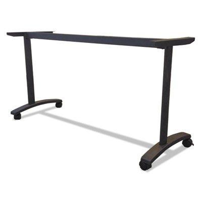 Alera VA7476BK Valencia Series Training Table T-Leg Base, 58w X 19-3/4d, Black ()