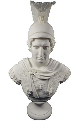 Estia Creations Alexander Sculpture The Great Macedonian King Great Large Bust ()