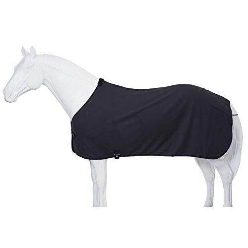 (Tough 1 Soft Fleece Blanket Liner/Sheet, Black, Medium)