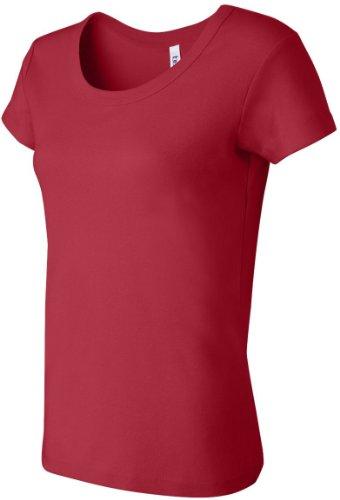 Modisches Top - Farbe: Red - Größe: XXL