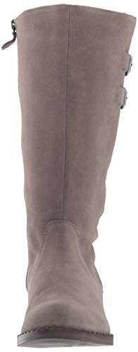 Angled Calf Brian Topline Gentle Concrete Harness Buckle Mid Boot Detail Women's Souls Suede wH4xq0Rg