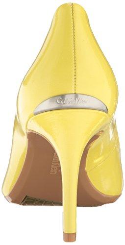 Dress Women's Calvin Gayle Lemon Klein Pump Laser wHAA5t4q