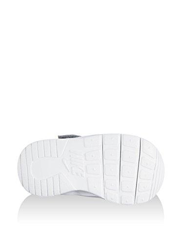 Nike Unisex Baby Kaishi (Tdv) Lauflernschuhe, Grau/Rosa/Weiß, 23.5 EU Grau/Weiß (Wolf Grey / Weiß)