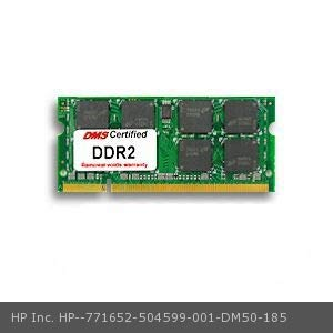 DMS Compatible/Replacement for HP Inc. 504599-001 Mini 1002TU 512MB DMS Certified Memory 200 Pin DDR2-533 PC2-4200 64x64 CL4 1.8V SODIMM - DMS