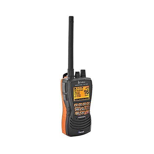 Cobra Electronics Corporation MRHH600FLTGPSBT VHF Radio W/Bluetooth Floating