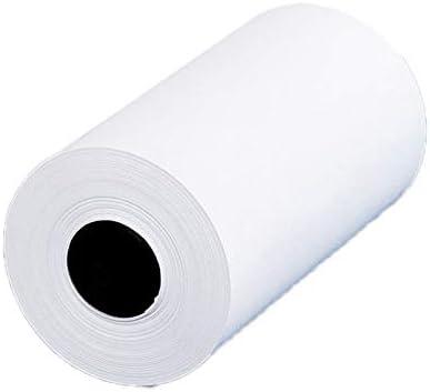 Bestlymood 3 Rouleaux de Papier Imprimable Papier Thermique Papier Photo 57X30Mm pour Imprimante PAPERANG P1 P2