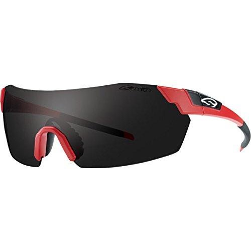 Smith Optics PivLock V2 Sunglasses, Matte Poppy Frame, Blackout Carbonic TLT - V2 Optics Smith