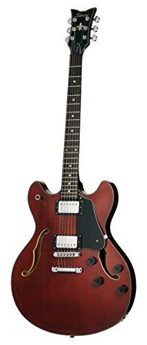 Schecter Corsair Electric Guitar (Gloss (Electric Guitar Gloss Walnut)