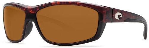 Costa Del Mar Sunglasses - Saltbreak- Plastic / Frame: Tortoise Lens: Polarized Amber 580P Polycarbonate
