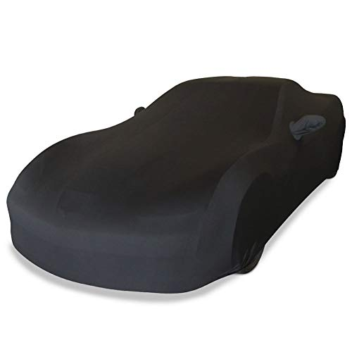 Full Stretch Custom Fit Satin Car Cover for Chevrolet Corvette C7 Stingray Coupe