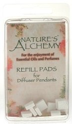 Nature's Alchemy - Refill Pads 10pc - Diffuser Pendant Necklaces