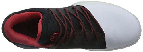 adidas Harden Vol. 1 - Zapatillas de baloncesto para Hombre, Negro - (NEGBAS/ESCARL/FTWBLA) 47 1/3