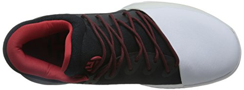 Adidas Harden Vol. 1Herren Basketball Schuhe, Schwarz–(negbas/escarl/Ftwbla) 462/3