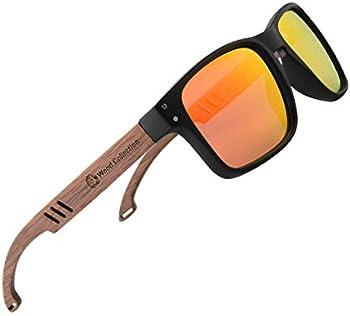 SKADINO SKD266 Handmade Bamboo Polarized Sunglasses