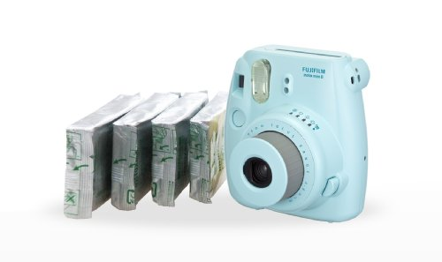 Fujifilm Instax Mini 8 Instant Camera & Film  - Blue