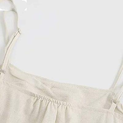 AGTZA KB041 - Mono Sexy para Mujer, sin Espalda, con Botones, diseño de Pajarita, Elegante: Jardín
