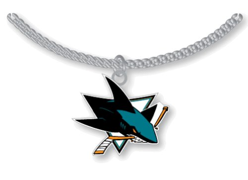 NHL San Jose Sharks Logo Pendant Necklace