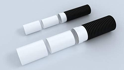4 corrugated to 4 SDR 35 or 4 SCH 40 Polylok 4 Corrugated Pipe Adapter
