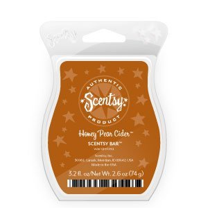 Honey Pear Cider Scentsy Scent Bar 3.2 by Scentsy
