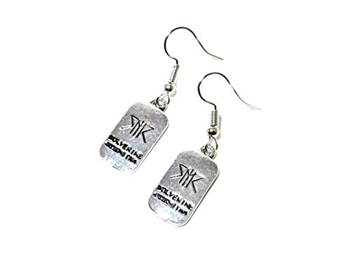 Marvel Wolverine XIII Dangle Earrings Gift Box