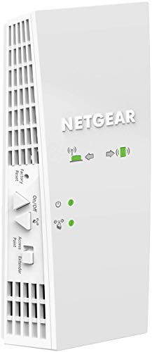 NETGEAR Wi-Fi Mesh Range Extender EX6250 - Coverage up to 1500 sq.ft. and 25 devices with AC1750 Dual Band Wireless Signal Booster & Repeater (up to 1750Mbps speed), plus Mesh Smart Roaming