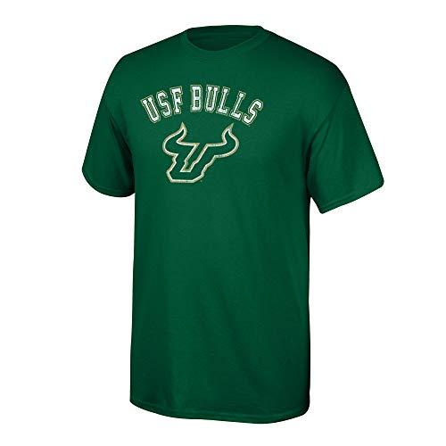 (Elite Fan Shop NCAA Men's South Florida Bulls T Shirt Team Vintage South Florida Bulls Green Large)