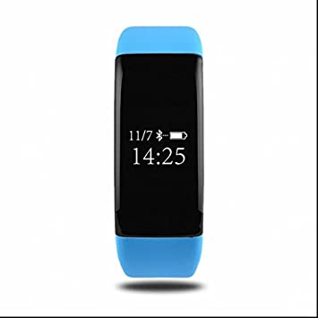 Watch Bluetooth Smart Watch Frecuencia Cardíaca & Tensiómetro podómetro Press de Up Contador de Calorías,