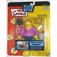The Simpsons Series 11 Action Figure Plow King Barney