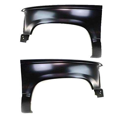 88-02 Chevy C/K Pickup Truck Front Fender Quarter Panel Left Right Side SET (Front Quarter Panel)