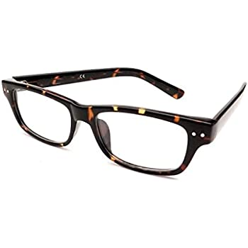 36bedab988 Progressive Multifocal Reading Glasses Large Wayfarer Style- No  Magnification on Top. Invisible Bifocal Readers