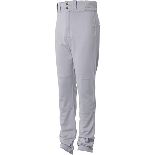 Wilson Youth Pro T3 Relaxed Fit Baseball Pant, Grey, X-Large