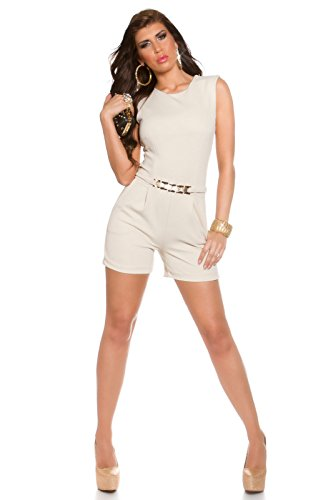 In-Stylefashion - Tuta -  donna Beige S