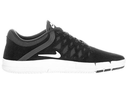 Nike Mujeres Free 5.0 Running Sneaker Negro / Blanco / Negro