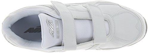 Scarpa Da Avia Uomo Avi-union Con Cinturino Bianco / Argento Cromato
