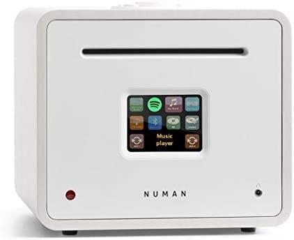 NUMAN Unison Retrospective - Radio por Internet , Receptor Todo en uno , Amplificador , CD , Dab + , FM , Bluetooth , Puerto USB , 2 x 40 vatios RMS , ...